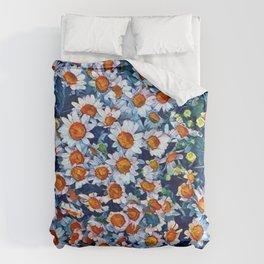 chrydsanthemum Duvet Cover