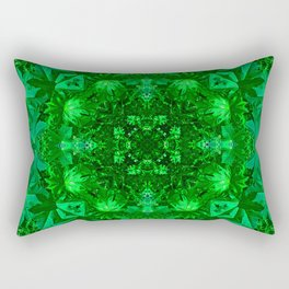 Archangel Raphael Healing Mandala Rectangular Pillow