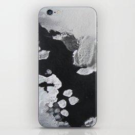 Waterfall molecules iPhone Skin