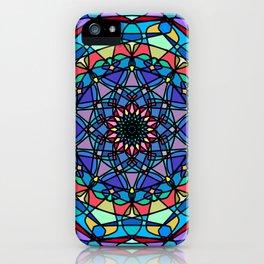 Mandala Beautiful grunge. iPhone Case