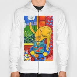Henri Matisse - Cat With Red Fish still life painting Hoody