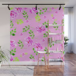 Pretty in pink, pink flower that is Wall Mural