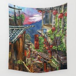 Jiufen Wall Tapestry