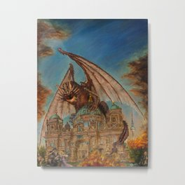 Attack on the Berliner Dom Metal Print