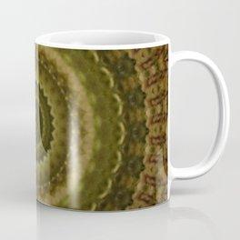 Green Mold Mandala 1 Coffee Mug