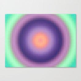 Ripple I Pixelated Canvas Print