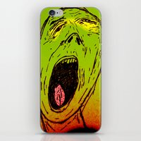 marley iPhone & iPod Skins featuring Marley by Zoé Rikardo