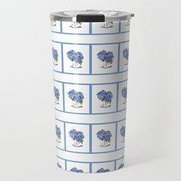 Cape Cod Hydrangea miniature Travel Mug