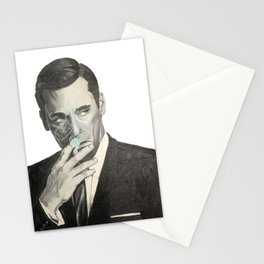 Don Draper's Blue Smoke Stationery Cards