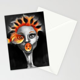 Queen Of Fears Stationery Cards
