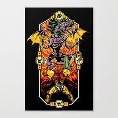 Epic Super Metroid Canvas Print
