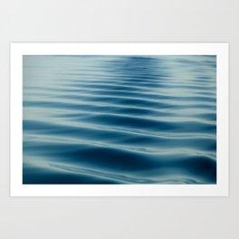 Little waves Art Print