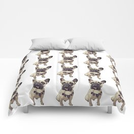 F is for French Bulldog Comforters