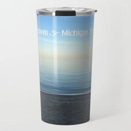 Michigan Summers Travel Mug