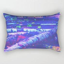 Logs of Colour Rectangular Pillow
