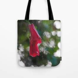 Copihue, Chile's national flower Tote Bag
