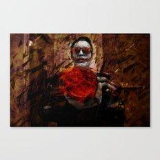 Burning Desires of Broken Glass Canvas Print