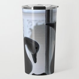 Swans at the Southern Quarters Travel Mug