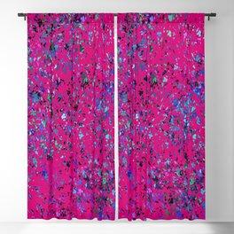 """Formica""  Digital Design in Hot Pink Blackout Curtain"