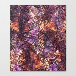 Colorful Rusty Abstract Print Canvas Print