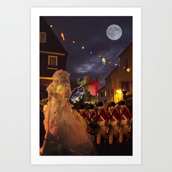 Ghost of Charles Dickens Past Art Print