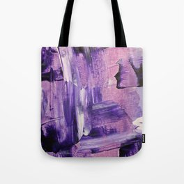 Purple Mess Tote Bag