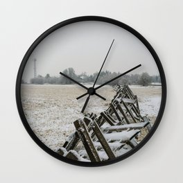 Windbreakes Wall Clock