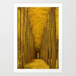Tree Soldiers Art Print