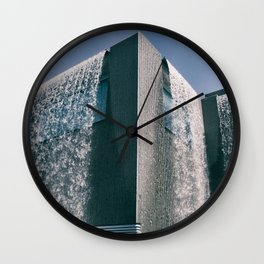 THE BUILDING Wall Clock