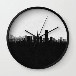 City Skylines: San Francisco Wall Clock