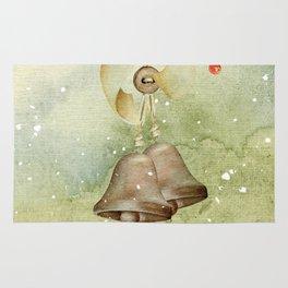 Christmas vintage bell Rug