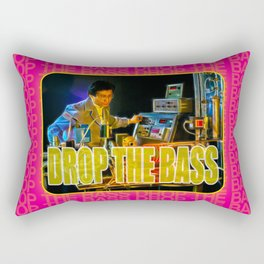 Drop The Bass Rectangular Pillow