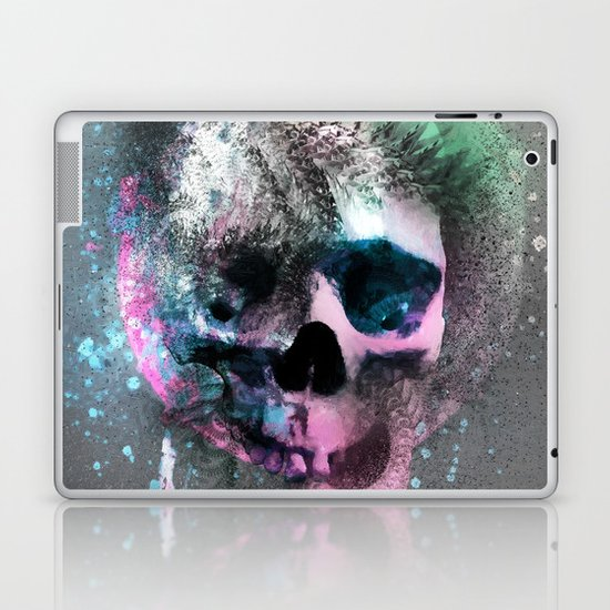 A Skull Laptop & iPad Skin