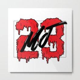 MJ23 Metal Print