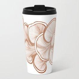 Mushrooms in Copper Travel Mug