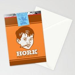 HORK American Blend Cigarettes Stationery Cards