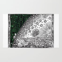 Matrix Flammarion THE ANSWER IS OUT THERE Rug