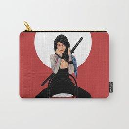 Samurai Warrior Girl - Lubna Carry-All Pouch