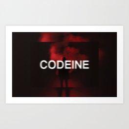 codeine Art Print