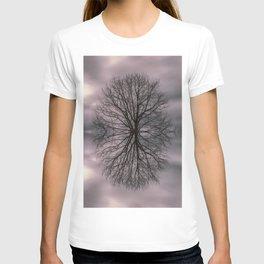 Oak tree before the storm #2 T-shirt