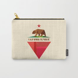 California 2 (rectangular version) Carry-All Pouch