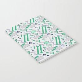 Murder pattern Green Notebook