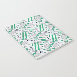 Murder pattern Green Notebook