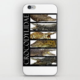 Crocodiles of the World iPhone Skin
