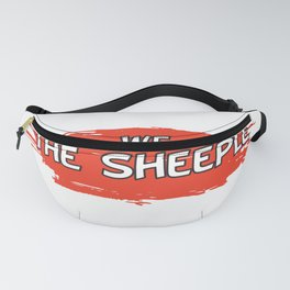 I don't want to wear this - Obey - Funny mask Fanny Pack
