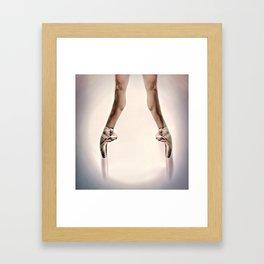 Releve Framed Art Print
