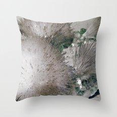 Furry Crystal  Throw Pillow
