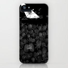 Fingerprint II iPhone Case