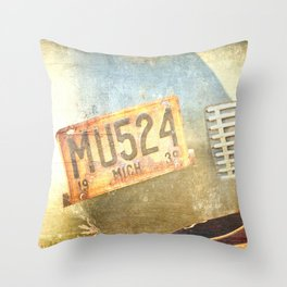Michigan 1939 Throw Pillow