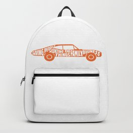 Saving People, Hunting Things, The Family Business Backpack